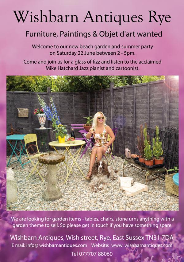 Wishbarn Rye Summer Garden Party